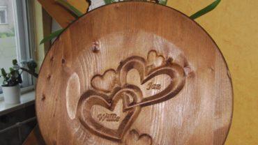 cnc frezen 3D harten in massief hout