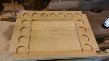 Eiken houten dienblad op maat