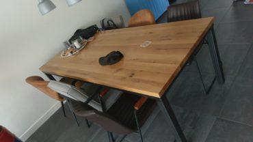 Houten tafelblad op maat