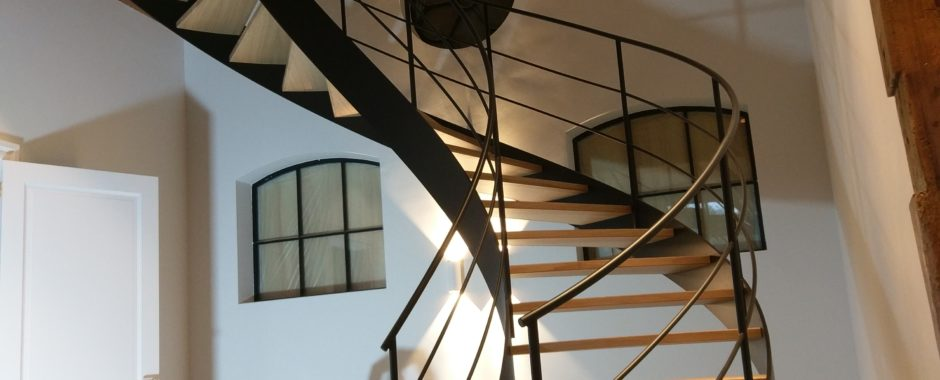 CNC Eiken houten trap